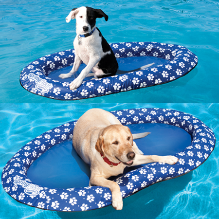 Par Pool Amp Spa Paddle Paws Pool Float For Dogs